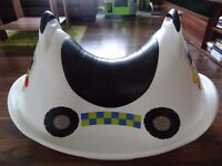 A police toddler rocker for age 1-3