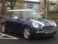 MINI COOPER 1.6 2001 (51 REG)*£999*LONG MOT*SERVICE HISTORY*BLUE*PX WELCOME*DELIVERY