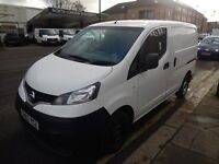 NISSAN NV200 2012 62 PLATE 75K MILES 1.5 DIESEL CLEAN VAN CHEAP TO RUN £5495 PLUS VAT