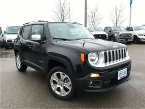 2016 Jeep Renegade DEMO*CLEARANCE PRICED ONLY 6348 KMS*LIMITED*4