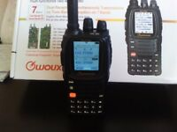 WOUXUN KG-UV9D DUAL BAND HANDHELD,WITH AIRBAND