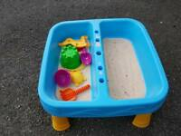 Children's sand pit