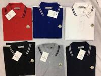 Designer polo shirts, all sizes, adults! Mix and match!