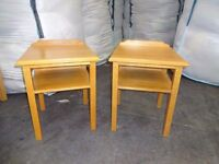 bedside tables set of 2 matching upcycle shabby chic matching dressing table available