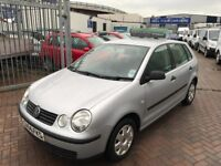 2004 04 VOLKSWAGEN POLO SUPERB DRIVE LONG MOT READY TO GO CHEAP BARGAIN CAR LOW INSURANCE GROUP TIDY
