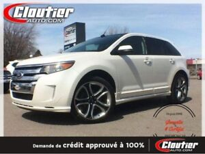 2014 Ford  EDGE  Sport, TOIT PANORAMIQUE, GPS