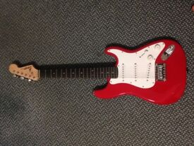 Squire by Fender Stratocaster - Bright Red
