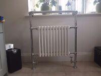 Traditional Chrome Towel Warmer and Bathroom Radiator