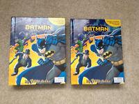 2 Batman-My Busy Books with figures, playmat, batman toys