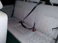 Vw T5 T6 shuttle transporter rear triple bench seats