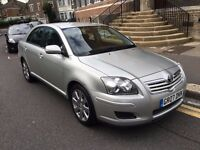 TOYOTA AVENSIS 2.0 D4D DIESEL T3-S 2007 1 FORMER OWNER LOW MILEAGE SAT NAV ALLOY WHEEL JUST SERVICED