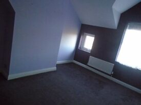 Large unfurnished double bedroom in Bexhill Centre, with all mod cons and friendly flatmate