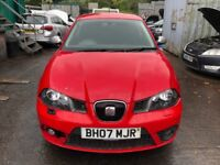 2007 Seat Ibiza Fr Tdi 3dr 1.9 Diesel Red BREAKING FOR SPARES