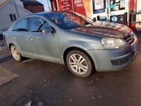 VW JETTA 2,0 TDI 56 REG 1 FORMER OWNER GREY FULL SERVICE HISTORY CAMBELT CHANGED DRIVES PERFECT