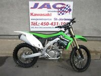 2013 Kawasaki KX450F Comme neuf 9h seulement