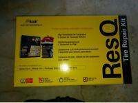 PUNCTURE REPAIR KIT, PUMP, INFLATOR and SEALANT 450ml BOX. (Unused)