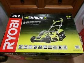 Ryobi 36V Li-Ion battery cordless lawn mower