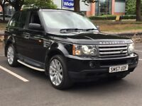 2008 RANGE ROVER SPORT 3.6 TDV8 * F.S.H * NAV * LEATHER * ACC * XENON * PX * DELIVERY * FINANCE *