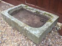 Garden Concrete Sink