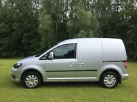 2012 vw caddy 1.6 tdi silver edition match only 300 made lots extras very low miles private use only