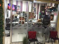 Glass shopfront