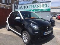 Smart Forfour 1.0 Passion 5dr£4,995 p/x welcome 1 YEAR FREE WARRANTY. NEW MOT