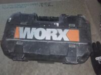 WORX Compact Circular Cutting Saw Tool Grip Handel Garden New Corded Electric