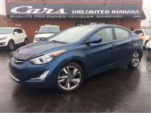 2016 Hyundai Elantra GLS | 1 OWNER | NO ACCIDENTS | CAMERA | ROO