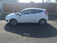IMMACULATE FORD FIESTA FOR SALE. 12,800 MILES. LOW TAX. ONE OWNER FROM NEW. RARELY USED