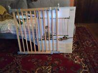 Babydan wooden stairs/baby gate