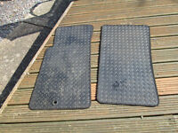 Set of rubber mats for a Mazda MX5 Mark 2