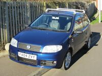 Fiat Punto 1.2 16 valve active sport. Metallic blue. 2004/04 reg. Very low mileage. Tested to July.