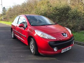 2009 PEUGEOT 207 VERVE 2, FSH, LOOKS AND DRIVES LIKE A NEW CAR, LOW MILES