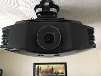 Almost new SONY 3D projector SXRD . In box with ceiling bracket and 2 x active glasses .