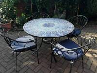 Marks & Spencer patio table and chairs