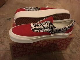 Fear of God x Vans Vault UA ERA 95 DX Red - U.K. 8