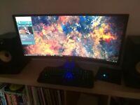 "35"" Acer Predator Monitor, 144hz, 2560x1080, VA (Curved), 4ms, 2x 7W Speakers"