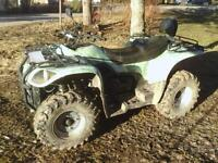 4x4 ATV 2011 For Sale with only 110 Kilometers