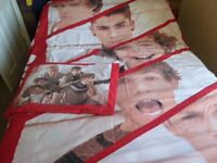 One direction bedding (double and single)
