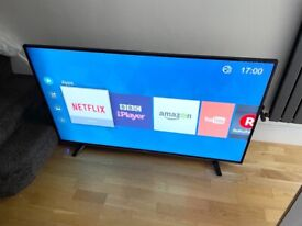 "HISENSE 55"" 4K ULTRA HD SMART LED TV,EXCELLENT CONDITION,FULLY WORKING £310 NO OFFER CAN DELIVER"