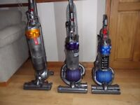DYSON BALL VACUUM CLEANER. DC18; DC25; DC24.