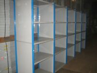 JOBLOT 100 bays dexion impex industrial shelving 2.1m high ( storage , pallet racking )