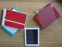UNLOCKED iPad 4, 16GB + Ultrathin Keyboard Cover