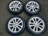 Vauxhall alIoys wheels good condition