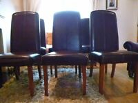 DINING CHAIRS 6 TOTAL HOUSE OF FRASER