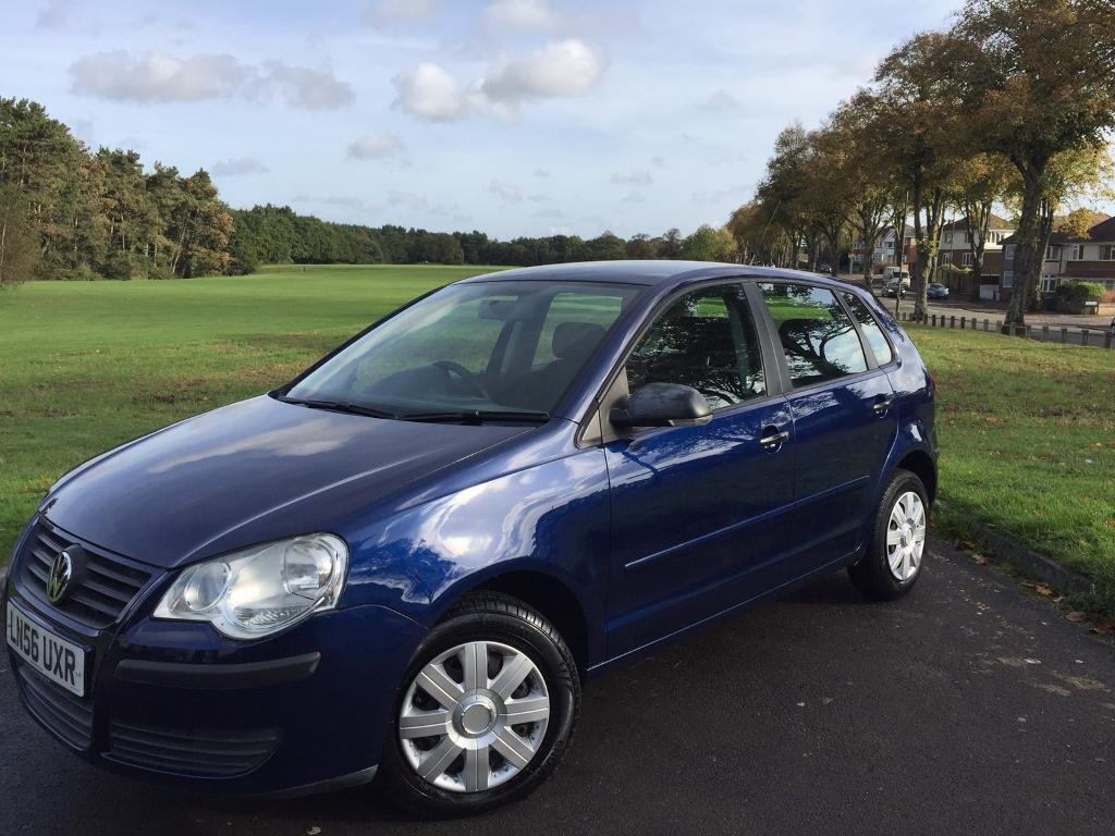 2006/56 VW VOLKSWAGEN POLO 1.2 PETROL, MANUAL, 5-DOOR ***GENUINE 68,000 MILES***FULL SERVICE HISTORY