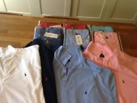 Ralph Style Polo Shirts XXL Various Colours x 10