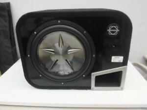 Clarion 10in Subwoofer In Bassworx Box - We Buy And Sell Car Audio Equipment - 117382 - NR1113404