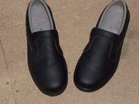 Slip-On Steel Toe Safety Shoe