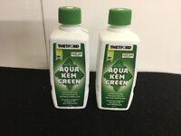 New, THETFORD Aqua Kem green environmentally conscious fluid for the waste holding tank